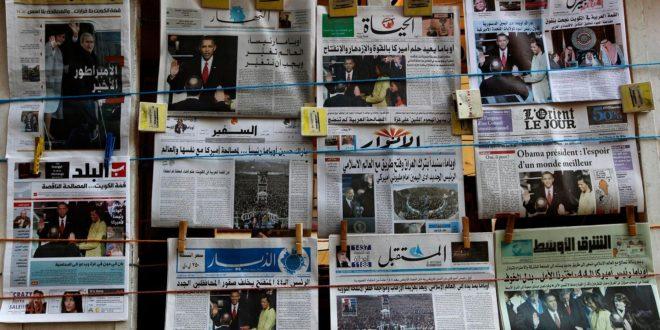 ازمة الصحافة اللبنانية