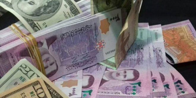 سعر صرف الدولار في سوريا ينخفض