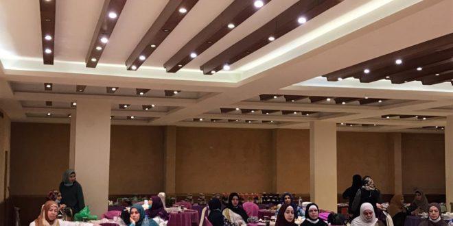 خلال اللقاء النسائي لمركز التراث العربي