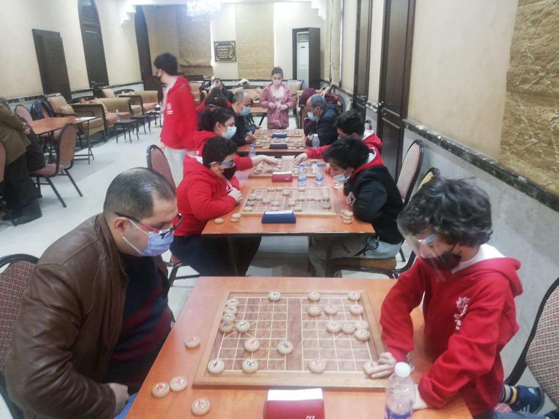المشاريع يستضيفبطولة لبنان الخامسة في الشطرنج الصيني