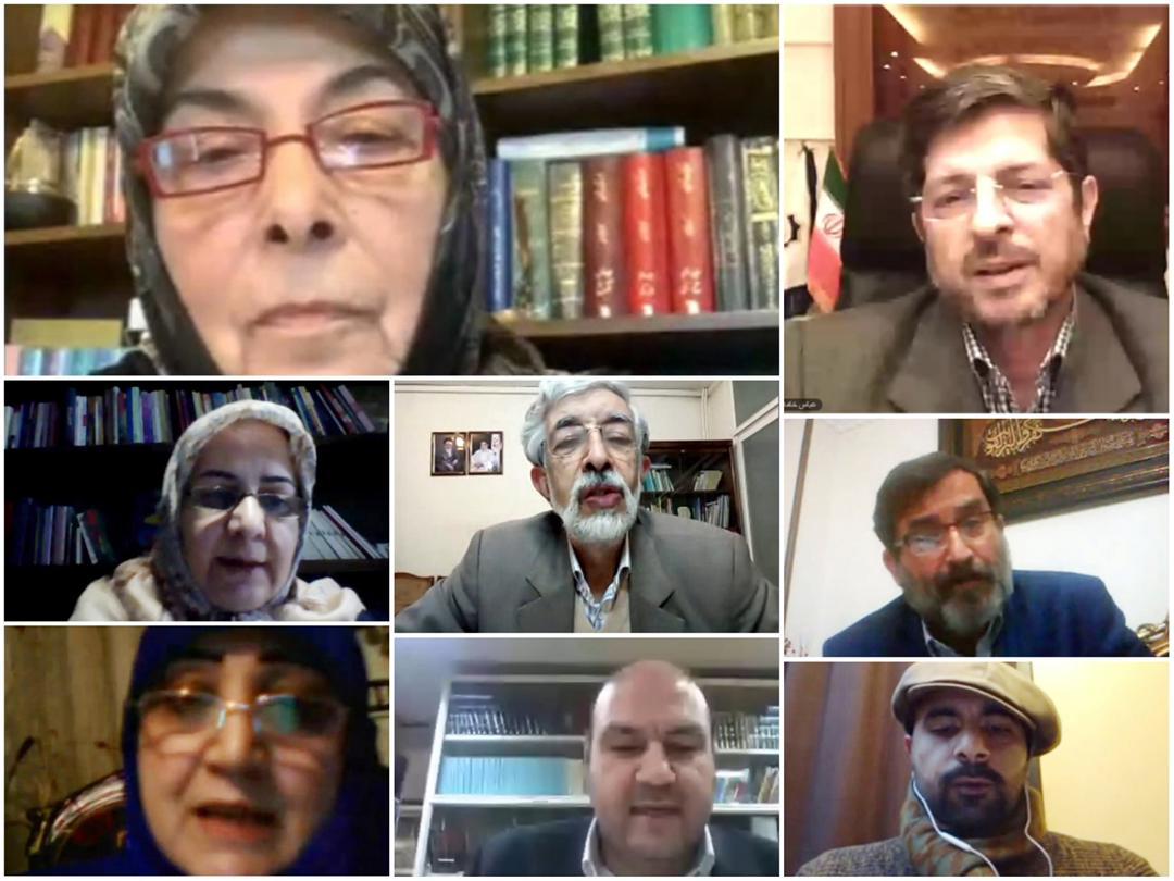 المتحدثون خلال تكريم الدكتورة عباس