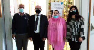مروة ونهرا وغصوب في دار المعلمين في بئر حسن