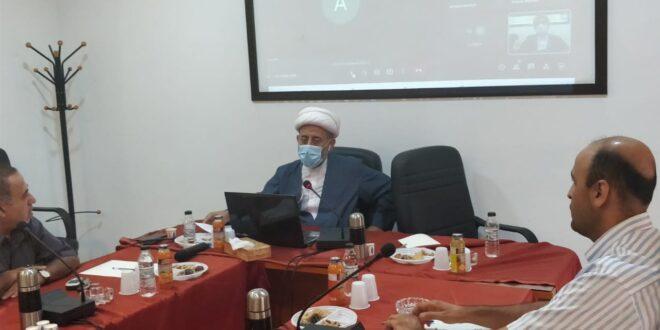 ندوة عن الابعاد الاجتماعية لاربعين الامام الحسين